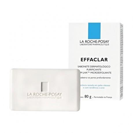LA ROCHE-POSAY SAVON EFFACLAR PAIN DERMATOLOGIQUE PURIFIANT 80g prix maroc - parapharmacie en ligne maroc