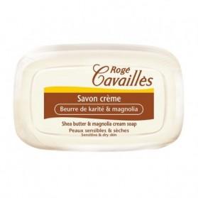 Roge cavailles Savon Crème Karité & Magnolia 115gr