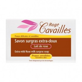 Rogé cavailles Savon surgras Extra-Doux - Lait de rose 250gr