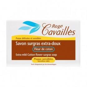 Rogé cavailles Savon surgras Extra-Doux Fleur de coton 250gr prix maroc - parapharmacie en ligne maroc