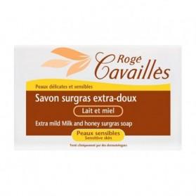 Rogé cavailles Savon surgras Extra-Doux Lait et miel 150gr prix maroc - parapharmacie en ligne maroc