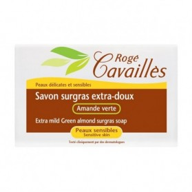 Rogé cavailles Savon surgras Extra-Doux - Amande verte 150gr