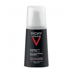 Vichy Homme déodorant 24H Ultra-Frais Vaporisateur 100 ml prix maroc - parapharmacie en ligne maroc
