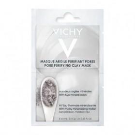 VICHY Masque argile purifiant pores ( 2 sachets de 6 ml ) prix maroc - parapharmacie en ligne maroc
