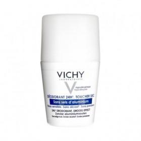 Vichy Déodorant 24h Toucher Sec Sans Sels D'Aluminium Roll-On 50ml
