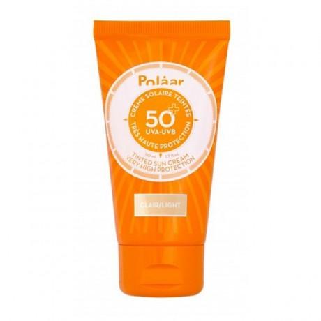 Polaar Crème Solaire Teintée Très Haute Protection SPF50+ parapharmacie maroc