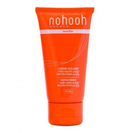 NOHOOH ECRAN SOLAIRE INVISIBLE TRES HAUTE PROTECTION SPF 50+ PRIX MAROC