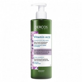VICHY DERCOS NUTRIENTS VITAMIN A.C.E SHAMPOOING BRILLANCE 250ML