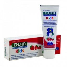 GUM KIDS DENTIFRICE parapharmacie au maroc 2 ans - 3 ans - 4 ans - 5 ans - 6 ANS 50ML