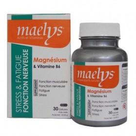 MAELYS MAGNÉSIUM & VITAMINE B6 30 GÉLULES PARAPHARMACIE MEKNES