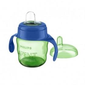AVENT - Tasse verte avec anses bleu 200 ml paraphramcie en ligne maroc