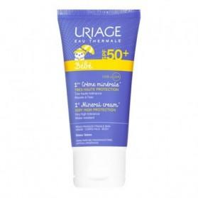 Uriage bebe 1er creme minerale SPF50+ 50ml prix maroc;ecran solaire bebe uriage prix maroc