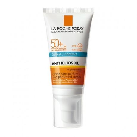 La roche posay Anthelios XL confort SPF 50+ Crème Sans Parfum peau sensible 50ml prix maroc - parapharmacie en ligne maroc