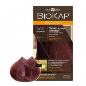 Biokap Nutricolor 6.66 Rouge Rubis 140 ml prix maroc