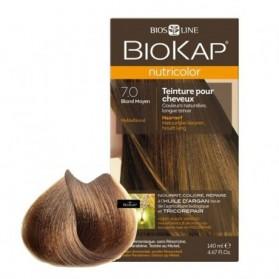 Biokap Nutricolor 7.0 Blond Moyen 140 ml prix maroc