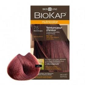 Biokap Nutricolor 7.5 Blond Acajou 140 ml prix maroc