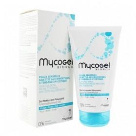 Biorga mycogel gel nettoyant moussant 150ml parapharmacie au maroc