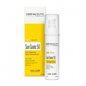 DERMACEUTIC SUN CEUTIC SPF50 PROTECTION SOLAIRE ANTI AGE 50ML MAROC