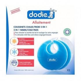 DODIE COUSSINETS D'ALLAITEMENT CHAUD / FROID 2 EN 1 X2